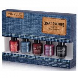 CND VINYLUX Craft Culture Pinkies