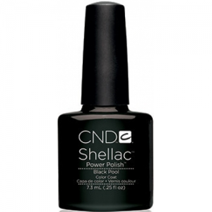 cnd shellac black pool