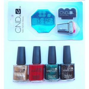 CND VINYLUX Maid For Plaid