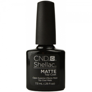 CND Shellac Top Coat Matte 7,3 ml